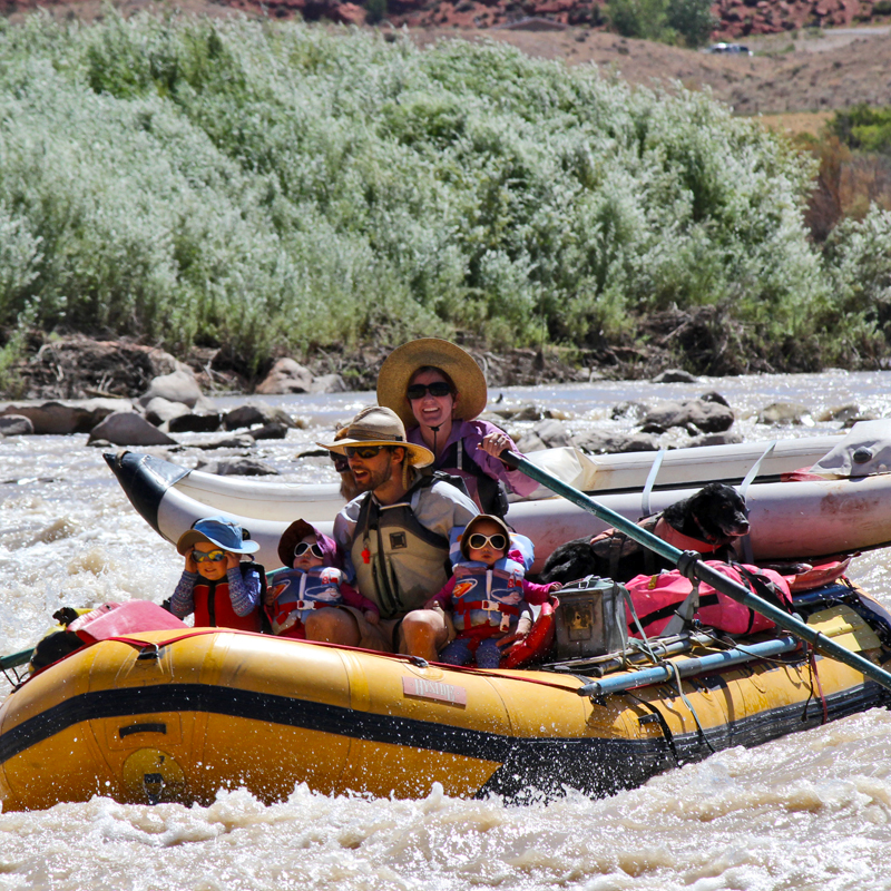 rafting with moab gear trader
