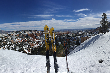 Bucket List Skiing in Bryce Canyon