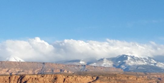Moab & La Sal Mountains Conditions Update