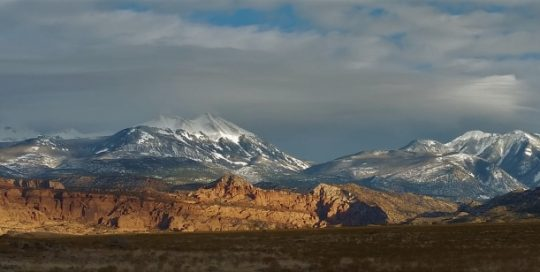 La Sal Mountain Conditions
