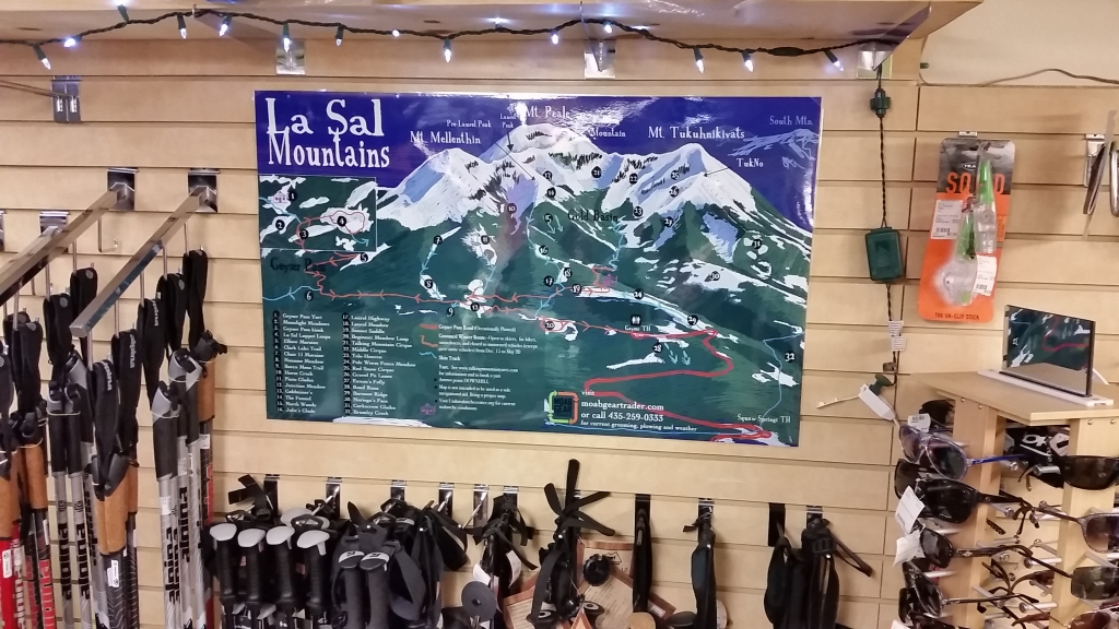 Moab & La Sal Mountains Winter Recreation Report