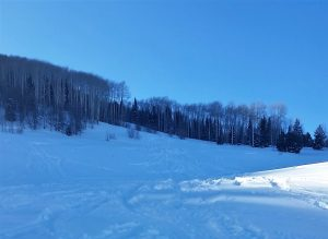 Backcountry skiers still makes tracks at Blue Mountian Resort