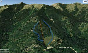 satellite view of blue mountain resort