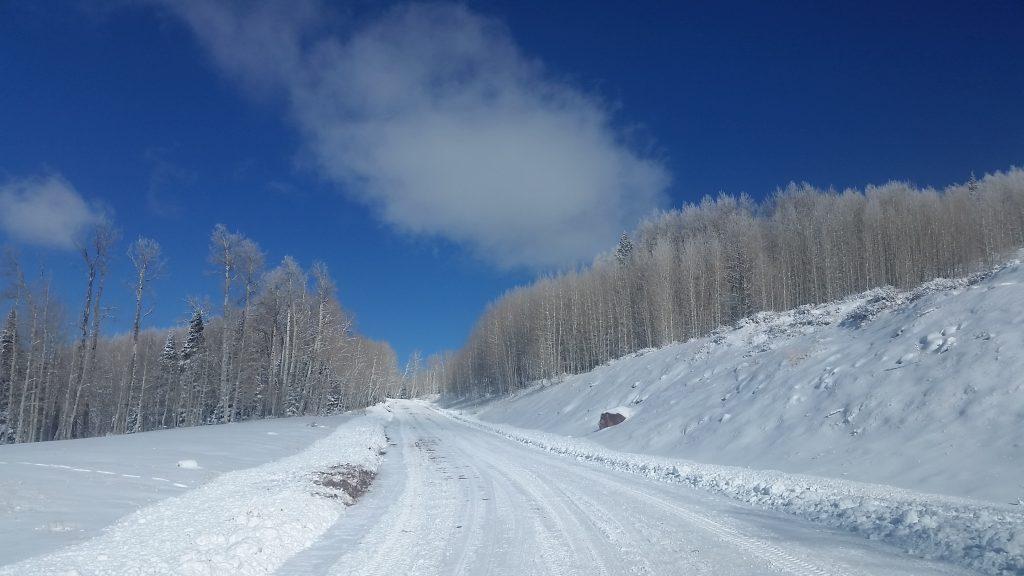 Geyser Pass Road la sal mountian utah