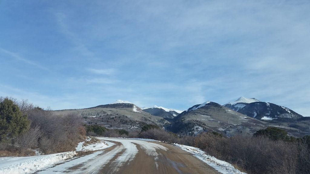 geyser pass road la sal montian s utah