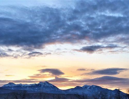 La Sal Mountain Snow Report 1-20-18