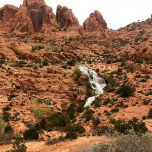 Faux Falls, Near Moab Utah