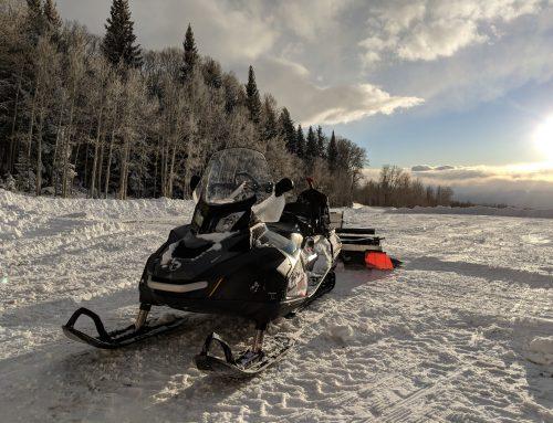 La Sal Mountain Snow Report 2-21-18