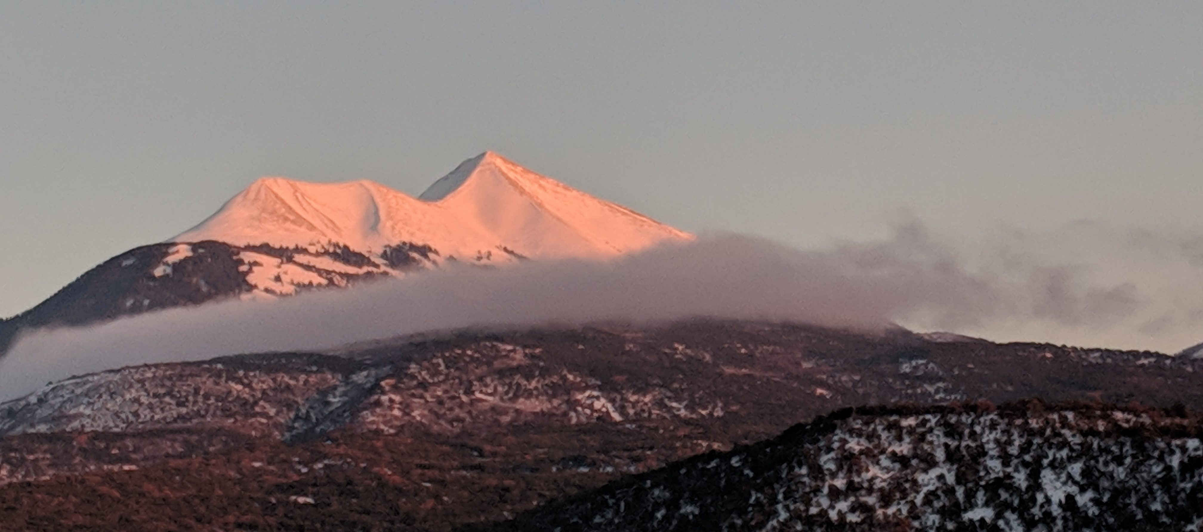 La Sal Mountain Snow Condition Report 12-10-18