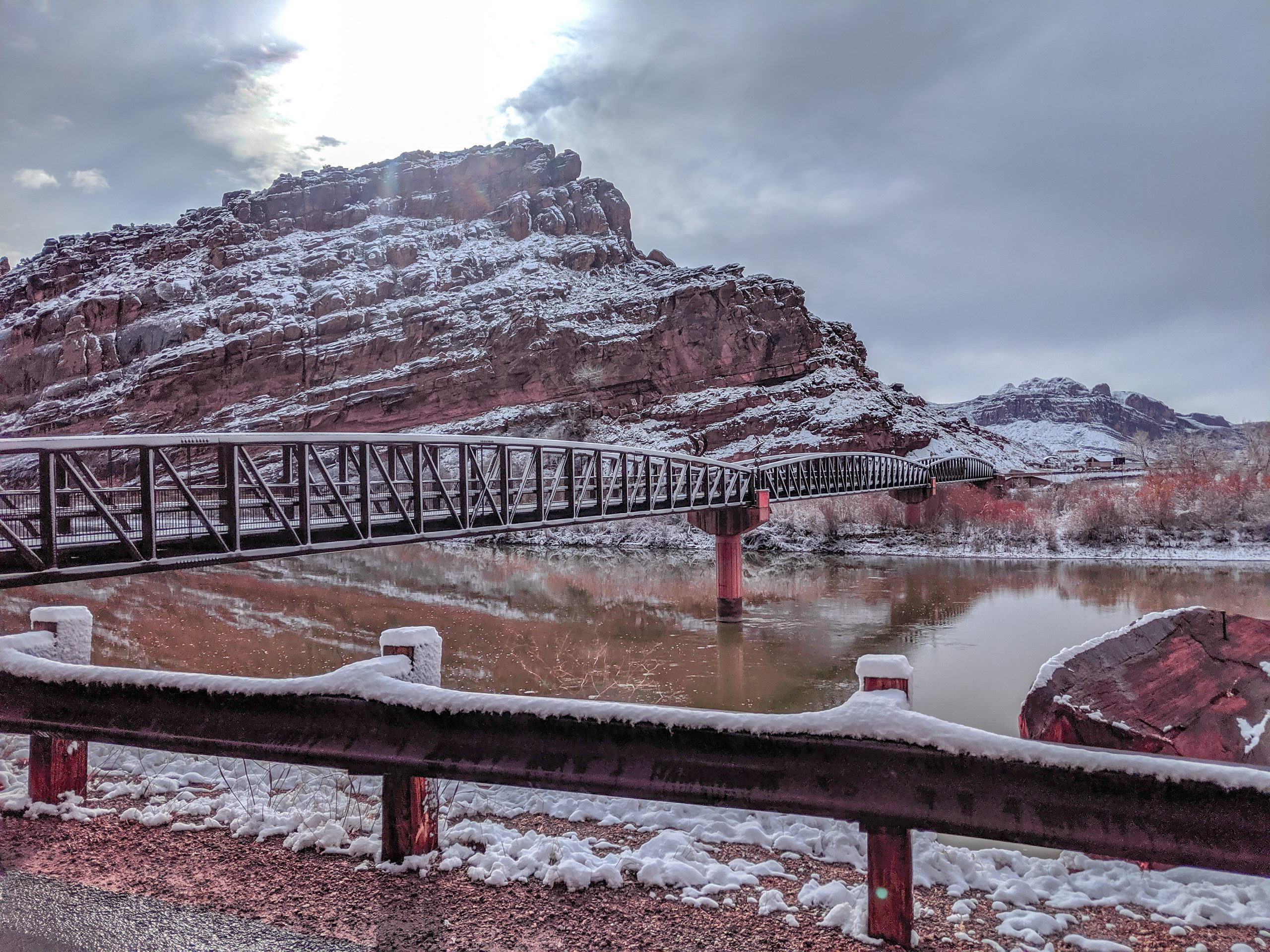 Moab Winter Conditions Update 11-26-19