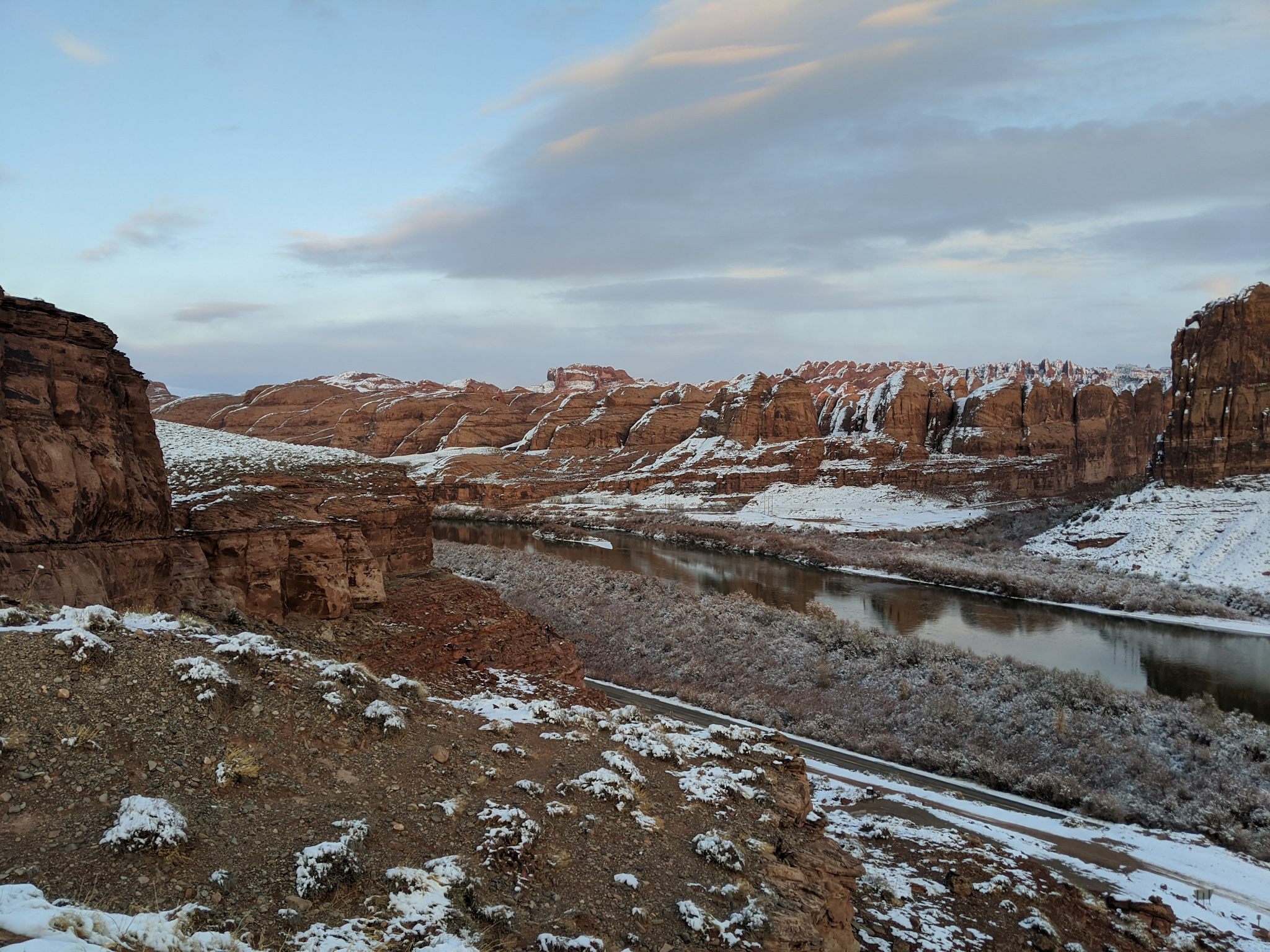 Moab Winter Condition Update 1-2-2020
