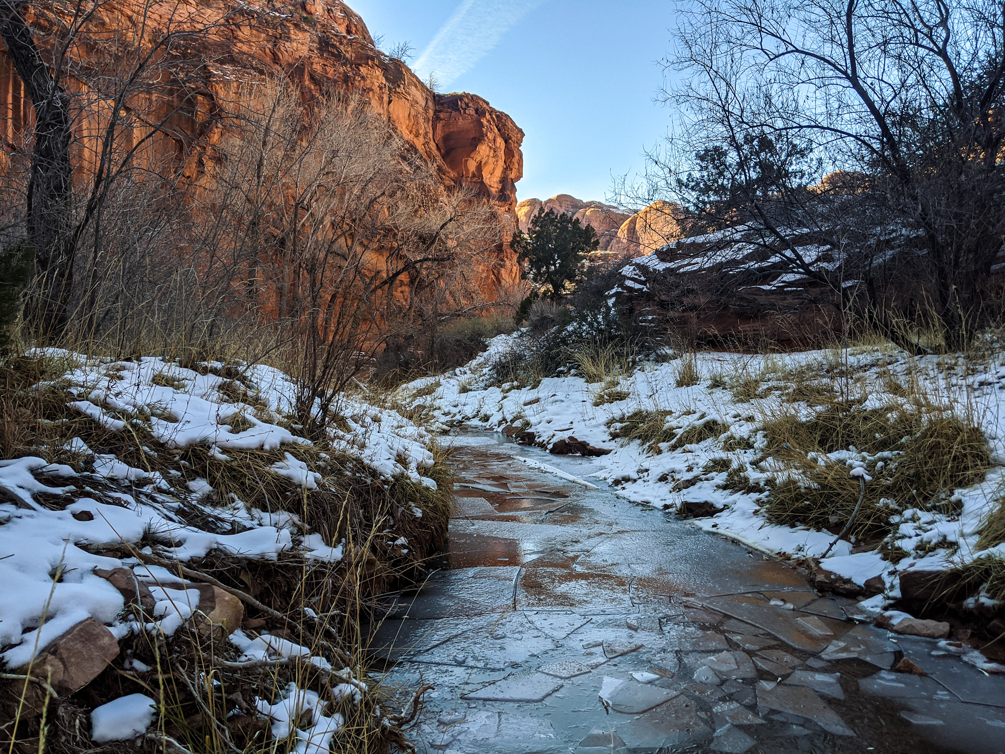 What To Do in Moab When It Snows