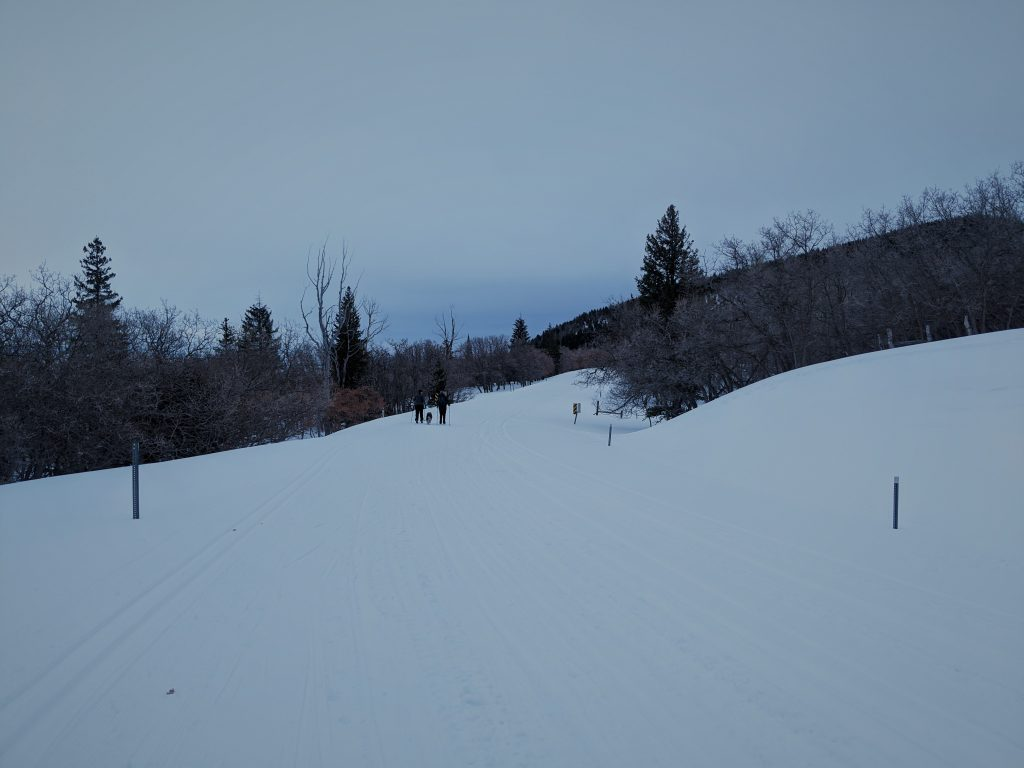 groomed ski trails in abajo mountains