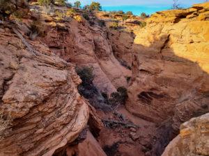 canyoneering conditions in Moab, Utah