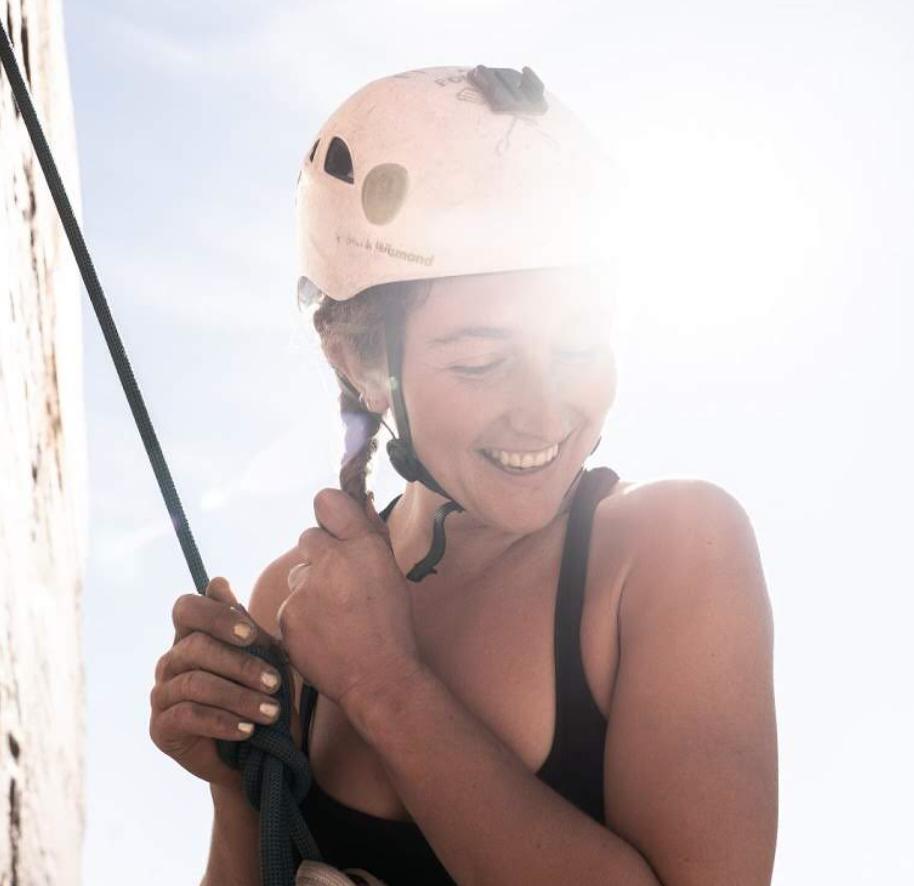 Kaya Lindsay Shawn Cope Sunny Climbing