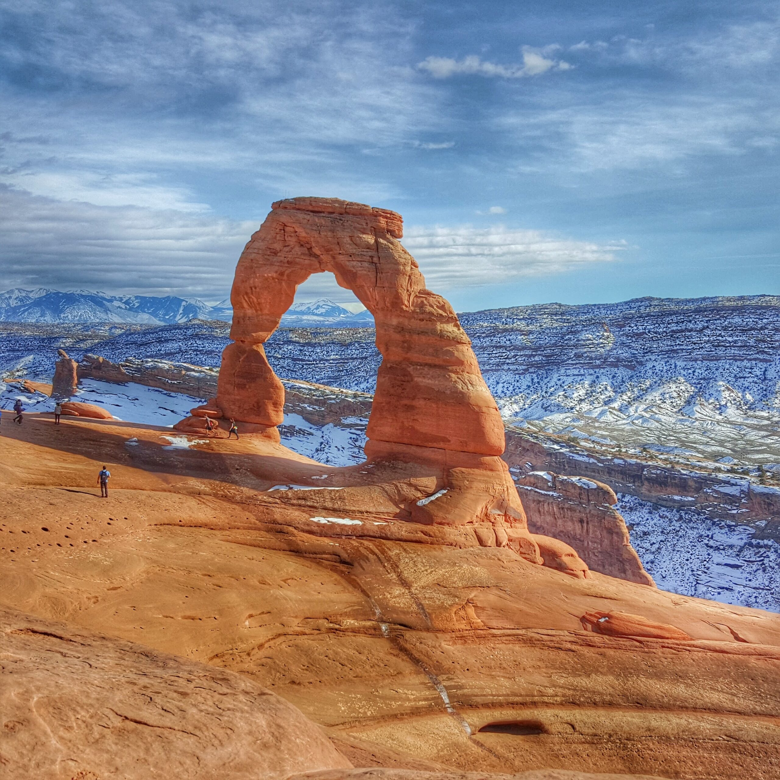 See Delicate Arch in The Snow
