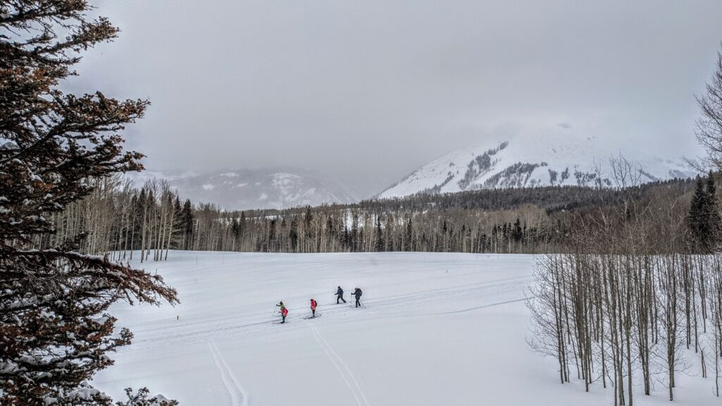 la sal mountain skiing moab utah